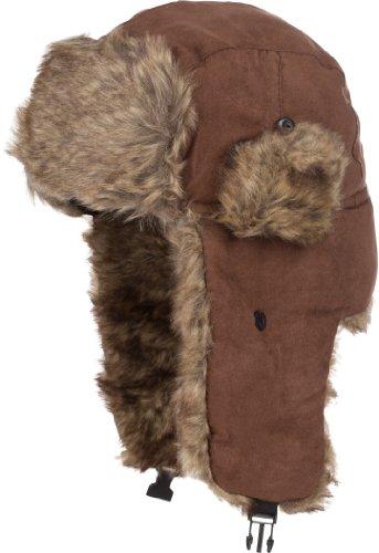 Sakkas 20C Morgan Unisex Faux Fur Trooper Hat - -