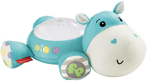 Fisher-Price Hippo Projection Soother, Blue by Fisher-Price