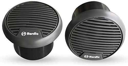 "Herdio 3/"" Marine Speaker Waterproof Car Speakers Outdoor Mp3 Player IP66"