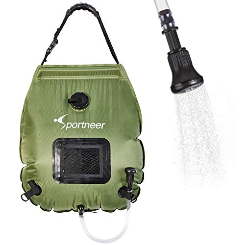 Sportneer Solar Shower Bag