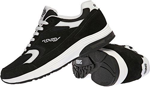 Tops 43 Größe Weiß 5 Schwarz Paperplanes Schwarz Low Damen SN714 Sneaker waqnnzHIp