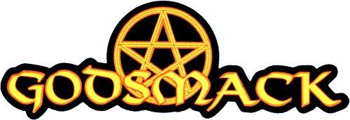 (Godsmack - Logo with Pentacle - Large Jumbo Vinyl Sticker/Decal)