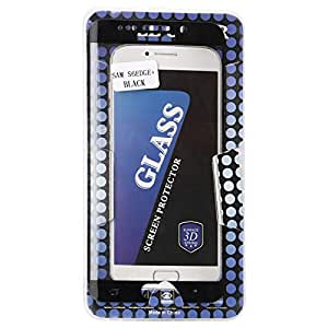 Glass Screen Protector for Galaxy S6 EDGE Plus, Black