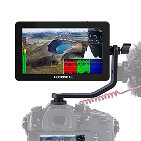 ANDYCINE A6 Plus 5.5inch Touch IPS 1920X1080 4K HDMI Camera - Sale: $169.99 USD (26% off)