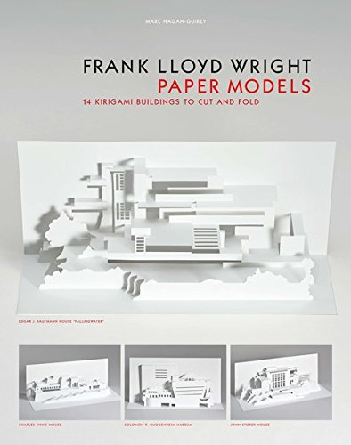 Lloyds Model (Frank Lloyd Wright Paper Models: 14 Kirigami Buildings to Cut and Fold)