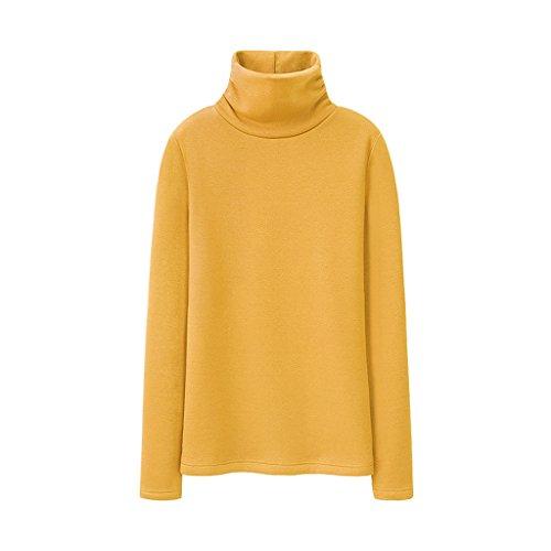 warm Color H shirt C women's High cotton winter thicking M T Size collar blouse IzAvIwq4