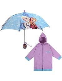 Little Girls Assorted Characters Slicker and Umbrella Rainwear Set