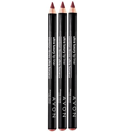 Lot of 3 Avon Ultra Luxury Lip Liner - Rosebud