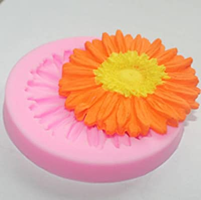 FD2211 Chrysanthe Silicone Sugarcraft Fondant Mold Cake Chocolate Bake Mould