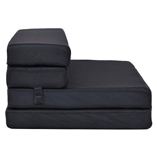 Moon Daughter Sofa Bed Guest Futon Portable Folding Mattress Fold Foam Sleeper Full-XL Size 4