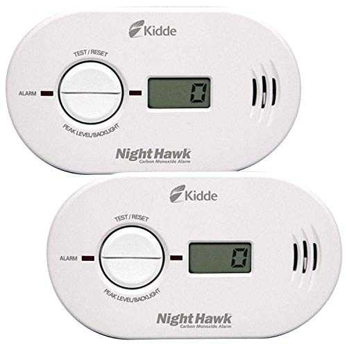 Kidde Twin Value Pack CO Alarm with Digital Display