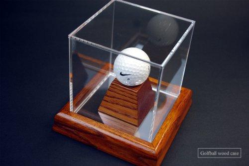 ホールインワンゴルフボールケース高級木製/UVカット B006WU2Z9Q