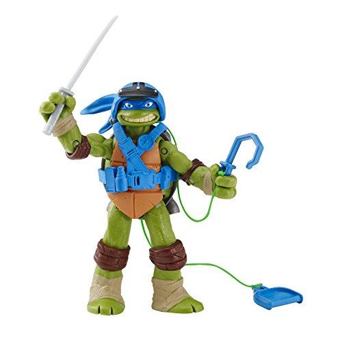 Teenage Mutant Ninja Turtles Spyline Leonardo Action Figure (Tmnt Zip Line)