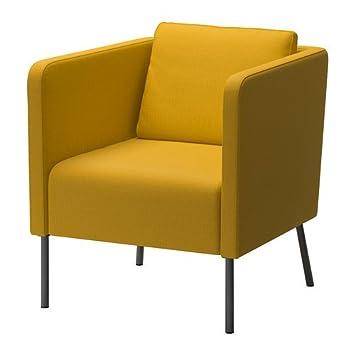 amazon com ikea chair skiftebo yellow 1626 20826 382 kitchen dining