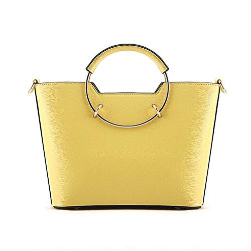 Bag Fashion Square Handle amp;demons Tote Shoulder Shape Angels Women Woman Ring D Handbag FHzFPwqY
