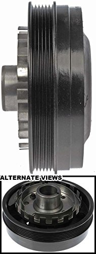 APDTY 605115 Harmonic Balancer Crank Pulley Dampener Assembly