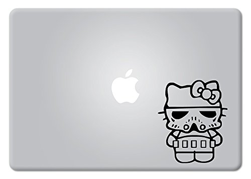 Hello Kitty stormtrooper Star Wars Apple Macbook Laptop Decal Vinyl Sticker Apple Mac Air Pro Retina