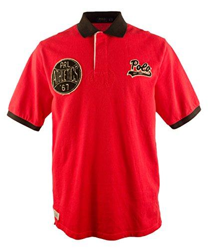 Polo Ralph Lauren Men's Big And Tall Short Sleeve Sport Patch Polo - Ralph Lauren 67 Rl
