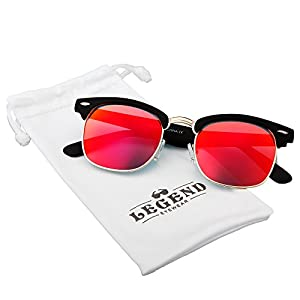 Classic Clubmaster Retro Sunglasses