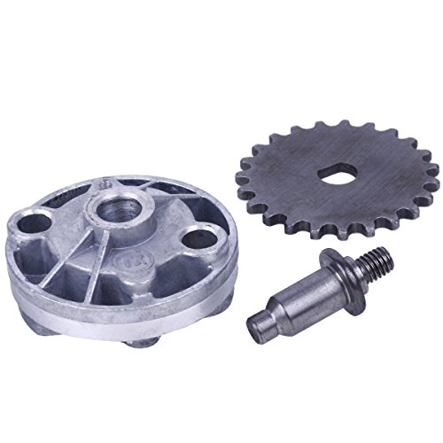 Glixal ATMT1-112 GY6 125cc 150cc Oil Pump Assy with Gear Sprocket for 152QMI 157QMJ Chinese Scooter Moped ATV Go Kart