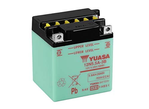 YUASA Batterij 12N5.5-3B open zonder saeure