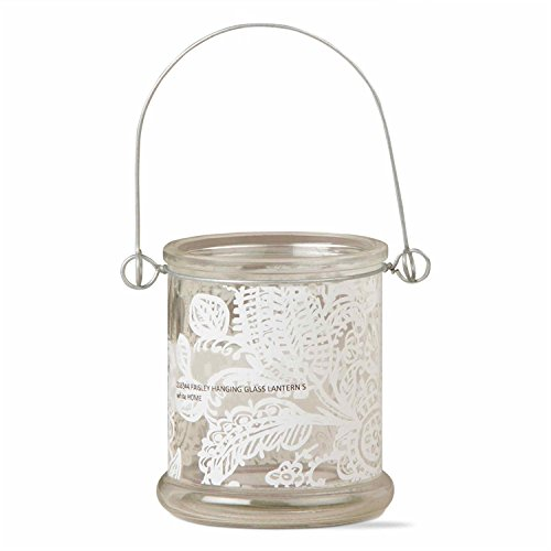 Tag Ltd Candle Lantern Holder Paisley Tealight Hanging 4
