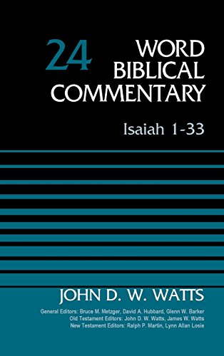 isaiah word biblical commentary buyer's guide for 2019