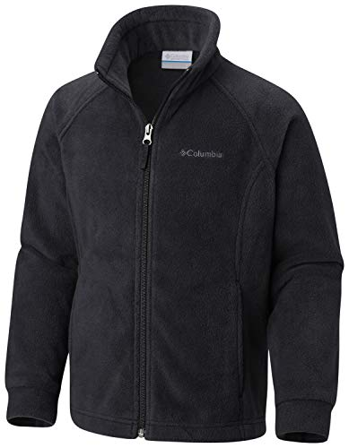 (Columbia Big Girls' Benton Springs Fleece Jacket, Black,)