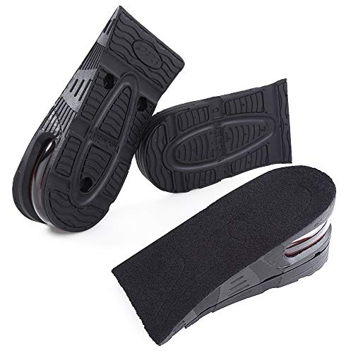 Thick Memory Foam Comfort Elevator Shoe Height Increase Insole Lift L 1//2inches