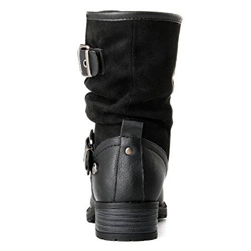 Globalwin Kvinnor 17yy12 Mode Stövlar 12black