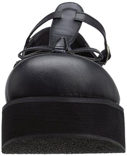 Leather Vegan Sprite Demonia Blk 03 qIwXtR7