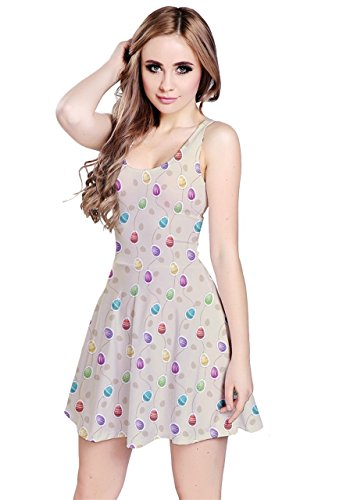 CowCow - Vestido - para mujer Colorful Easter