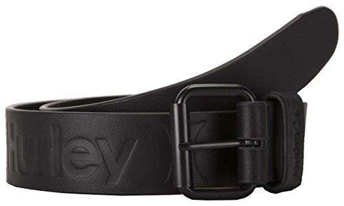 (Hurley Leather Belt - Black - M)
