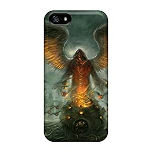 TmallCase Scratch-free Phone Case For Iphone 5/5s- Retail Packaging - Dark Angel 3