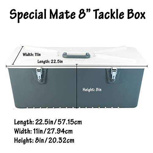 Special Mate Fishing Tackle Box Organizer 8