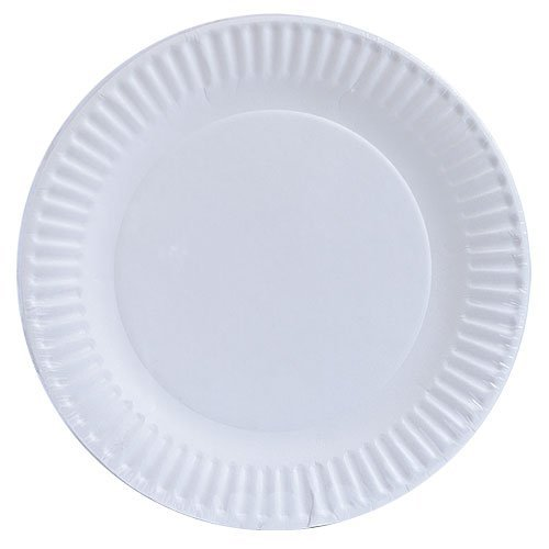 Nicole Home Collection 100-Count Everyday Dinnerware Paper Plate, 9-Inch, White