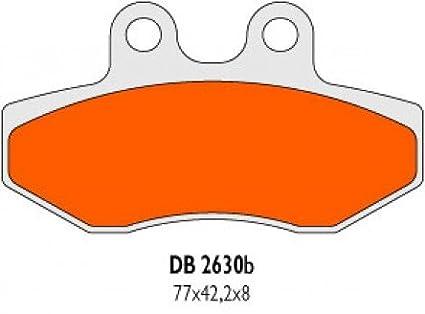 Vorne Bremsbel/äge Delta Braking Sinter DB2630RDN f/ür BETA Alp 4.0 Baujahr 05-12