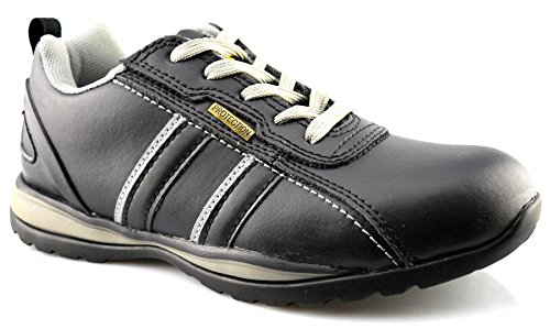 Grafters Women's Leather Uniform Dress Shoes 9 Black Leather by Grafters