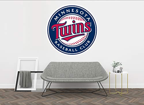 Baseball Team Logo - Wall Decal Vinyl Sticker for Home Interior Decoration Bedroom, Window, Mirror, Car (15