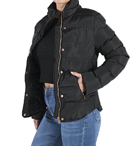 Taille Noir Femme Blouson Unique Shelikes 7pEgwZZxq