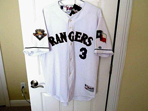 Autographed Alex Rodriguez Jersey - #3 2003 Al Mvp Home Coa - Steiner Sports Certified - Autographed MLB Jerseys Authentic Alex Rodriguez Home Jersey