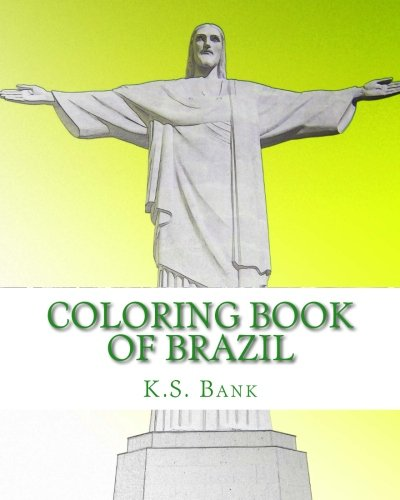 Coloring Book of Brazil.