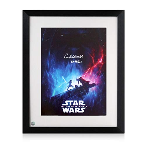 Ian McDiarmid Signed Star Wars Poster: The Rise Of Skywalker Framed | Exclusive Memorabilia from Exclusive Memorabilia