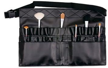 4da03d063b33 Comicfs Makeup Brush Bag A1 Professional Cosmetic Holder 28 Pockets  Organizer Apron with Artist Belt...