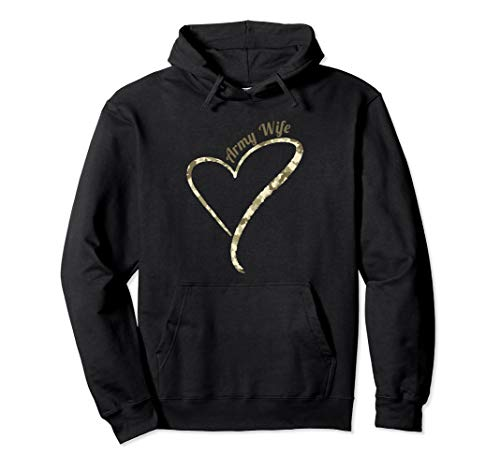 Army Wife - Army Camouflage Hoodie