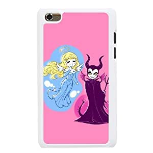 The best gift for Halloween and Christmas iPod 4 Case White Freak badass Maleficent Sleeping Beauty by disney villains VIK9171574