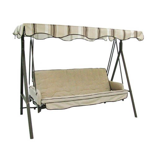 Replacement Canopy Top Cover for Garden Treasures Traditional 3 Person Swing - SC-GSN-V1