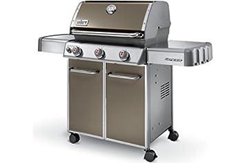 Weber 6515053 Genesis E-310 – Barbacoa de gas, 3 quemadores Smoke Grey