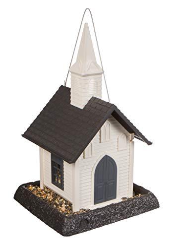 (North States Village Collection Around Town-Birdfeeder-Church)