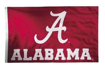 University of Alabama  - 3' x 5' NCAA 2-Sided Nylon Applique